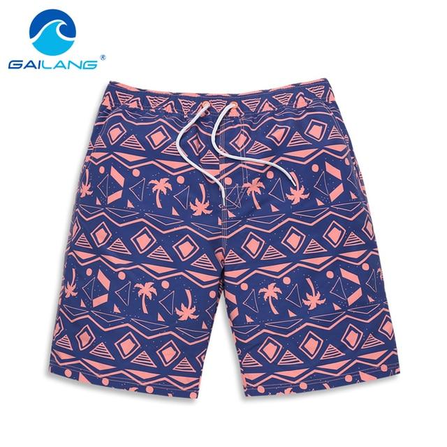 Gailang Brand Men Beach Shorts Man Boardshorts Swimwear Swimsuit Man new Boxer Trunks Bermuda Quick Drying Board Shorts Gay