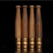 Minipipa de madera de ébano para fumar, pipa de madera hecha a mano, creativa, alta calidad, Pipa de madera, 1 unidad
