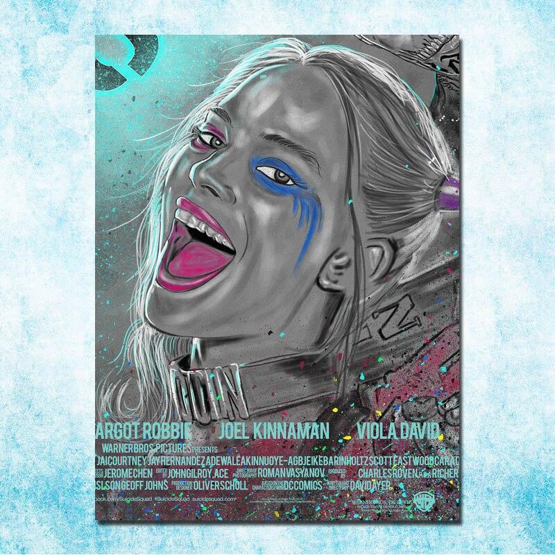 The Joker 2019 Hot Movie 16 Wall Art Silk Canvas Poster Print 12x18 24x36 inch