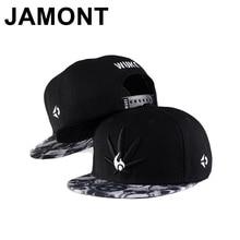 Jamont Unisex Hempleaf bordado Snapback calle bailando Hip Hop sombreros de  béisbol plano visera ajustable Punk Rock Gorras 4ee7b0ed68f