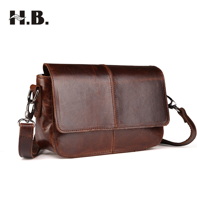 HIBO Women Bags Female Messenger Bag Genuine Leather Vintage Cross body Shoulder Bag Ladies Clutch Hand Bag Small Flap Handbags кабель apple lightning usb tp link tl ac210 mfi