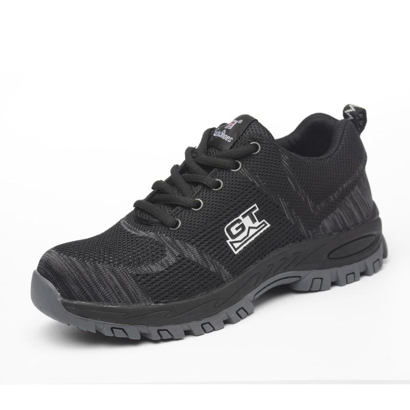 e4fba2812b 🛒HOT DEAL | Breathable Work Shoes Men Indestructible Steel Toe ...