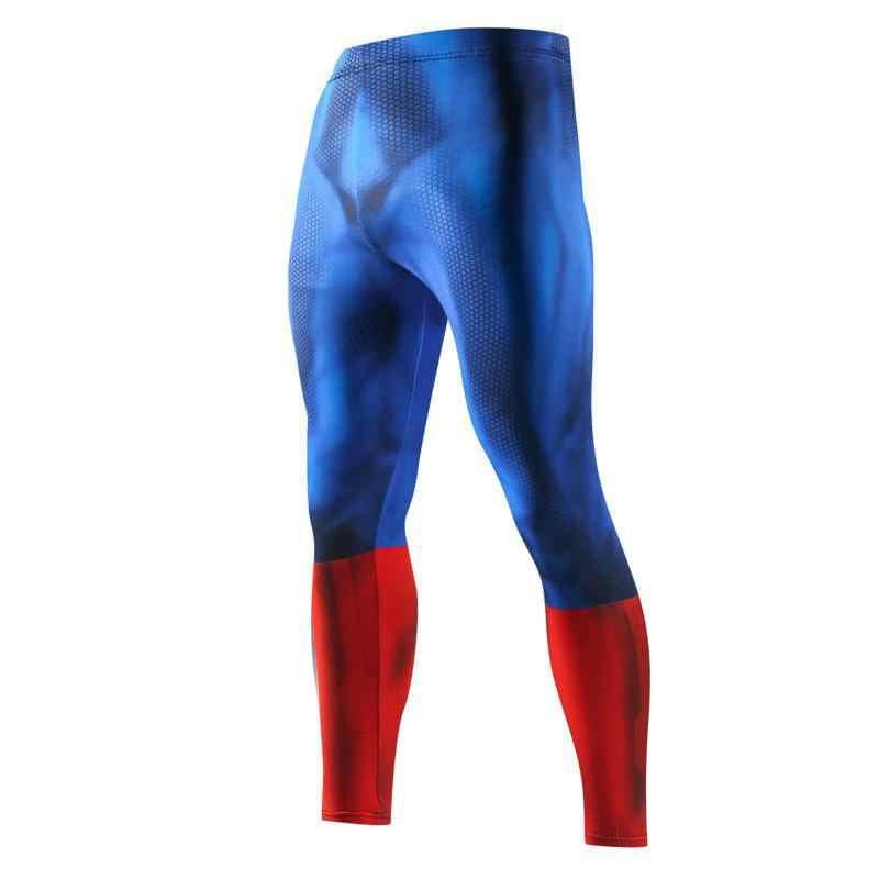 Baru Pria Kompresi Kulit Celana Legging Lari Jogging Olahraga Gym Kebugaran Latihan Latihan Pria Bawah Kebugaran Celana Panjang Celana