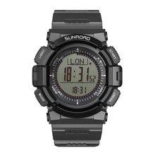 Fr821 мужские часы многофункциональный цифровые часы шагомер открытых площадках SunRoad оригинальный серый