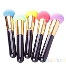 Cosmetic Makeup Make UP Set Liquid Cream Foundation Sponge Hot Sale 021W 2T76