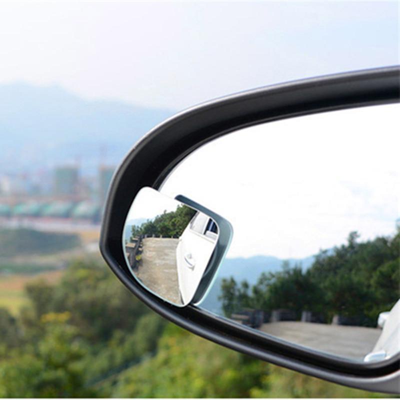 2x Convexo Punto Ciego Ala de ángulo ancho Van Auto Moto Espejo Accesorios De Seguridad
