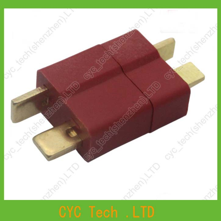 Image 4 - 50pairs Good Quality Large Current Plug Connector Male+Female RC ESC Battery Helicopter T plug for Airplane Car Boat-in Connectors from Lights & Lighting