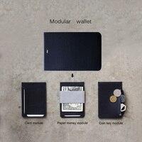 MAG Fashion Waterproof Thin Creative Magnet Wallet Travel Slim Card Holder Coin Purse for Men Women