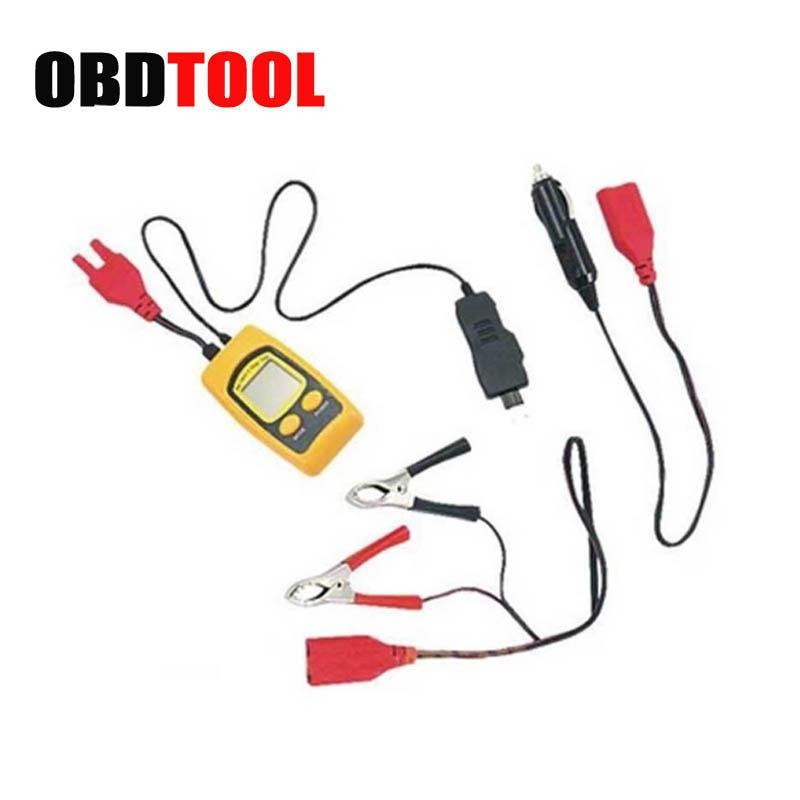 ObdTooL предохранитель тока и напряжения тестер Максимальная нагрузка 20А/48В постоянного тока для испытания диапазоне от 1 до 48В автомобилей диагностические JC20