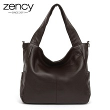 More Colors NEW Fashion Big Bags Ladies Casual Tote 100 Genuine Leather Women s Shoulder Handbag