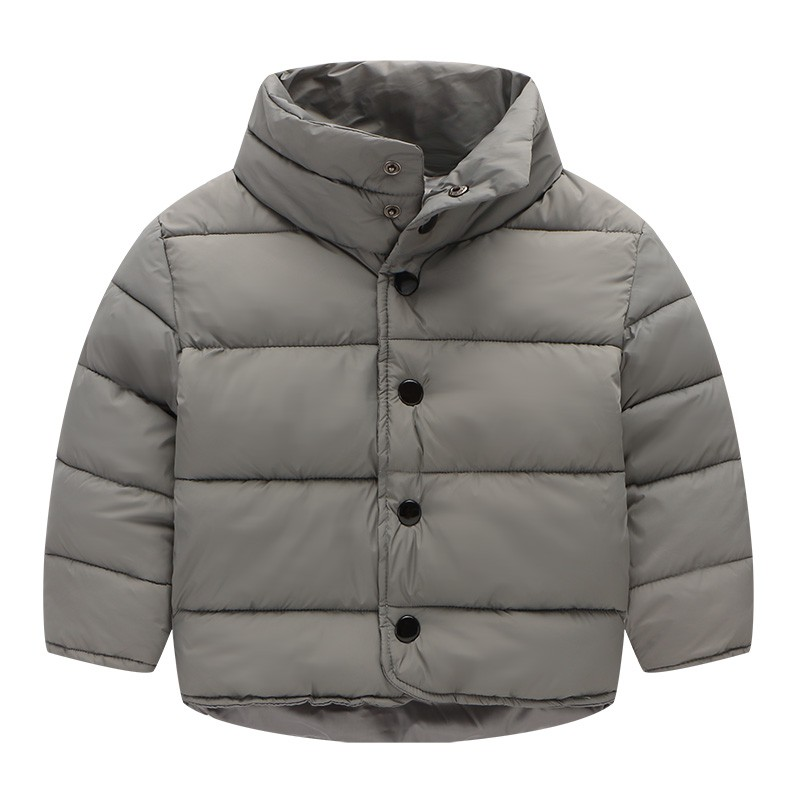 Kids Outerwear&Coats Winter Button Coat Children's Clothing Baby Jackets Boys and Girls Fashion Warm Coat For 2-7Y 3 Colors 2017 fashion boy winter down jackets children coats warm baby cotton parkas kids outerwears for