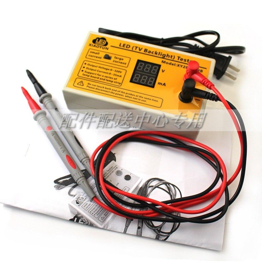 Image 4 - Тестер светодиодной подсветки для телевизора 0 320 в, тест полоски со светодиодным индикатором тока и напряжения для всех светодиодов, вилка стандарта СШАtool tooltool ledtools display -