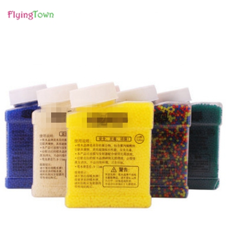 FlyingTown 9 11mm Crystal bullets 20000 Pcs pack Water Guns Pistol Toys Growing Crystal Water Balls Mini Round Soil Water Beads in Toy Guns from Toys Hobbies