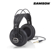 Original Samson SR850 Monitoring HIFI Headset Semi Open Back Headphones For Studio With Leathe Earcup Without