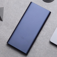 Original Xiaomi Mi Power Bank 2 10000 mAh External Battery portable charginQuick Charge 10000mAh Powerbank Supports Charging