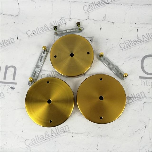 Sample Order Antique Brass Finish Iron Ceiling Plate DIY Pendant Light  Canopy Bronze Metal Ceiling Mount