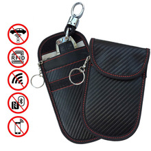 Car Key Signal Blocker Case 2 Pack Fob Protector Antitheft Lock Devices WiFi/GSM/LTE/NFC/RF