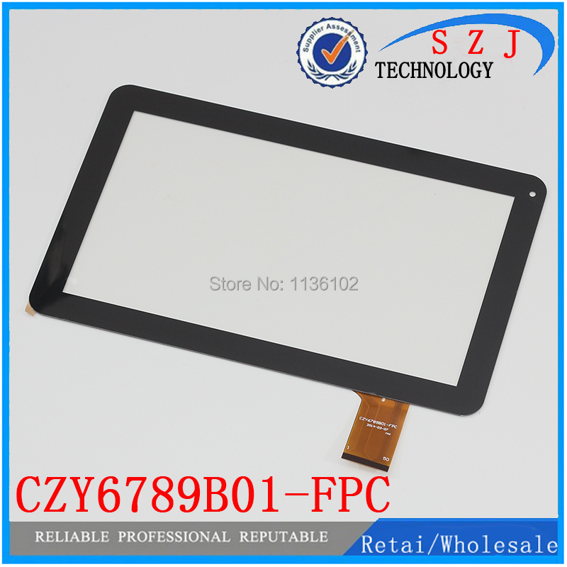 (Ref: CZY6789B01-FPC ) New 10.1 inch Tablet PC Touch Screen panel Digitizer Glass Sensor Replacement Free Shipping