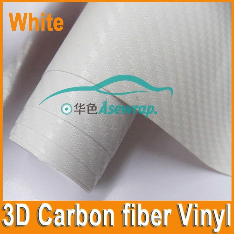 فیلم 10/20/30 / CMx152CM با کیفیت بالا 3D ضخیم فیبر کربن وینیل فیلم سه بعدی برای بسته بندی اتومبیل برچسب تزئینی ماشین