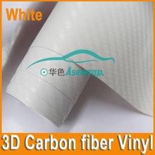 10/20/30/CMx152CM high quality thick 3D Carbon fiber vinyl 3D film for Car wrapping car decoration car sticker