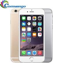 Разблокированный Apple iPhone 6 сотовые телефоны 1 ГБ Оперативная память 16 Гб/64/128 ГБ Встроенная память 4,7 'IPS GSM WCDMA, сеть 4G LTE, мобильный телефон, iPhone6 б/у мобильных телефонов