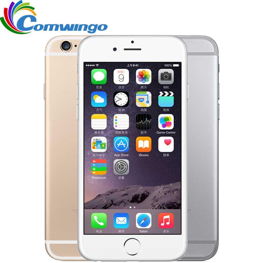 Odblokowany Apple iPhone 6 telefonów komórkowych 1GB RAM 16/64/128GB ROM 4.7 'IPS GSM WCDMA 4G LTE telefon komórkowy iPhone6 używany telefon komórkowy