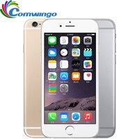 Apple-iphone 6 desbloqueado, celulares, 1gb, ram, 16/64/128gb rom, telefone móvel iphone 6 usado, tela 4.7 polegadas, gsm, wcdma, 4g lte