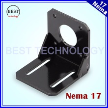 NEMA 17 Steppr Motor Accessories Bracket Support Mounting L Type Bracket Mount 42 Stepping Stepper Motor Nema17 Motor Holder(China)