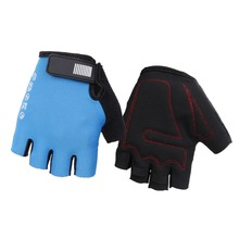 цена на Cycling Gloves Outdoor Sports Breathable Training Gloves Half Finger Sponge Pad Shock Absorbing Gym Fitness