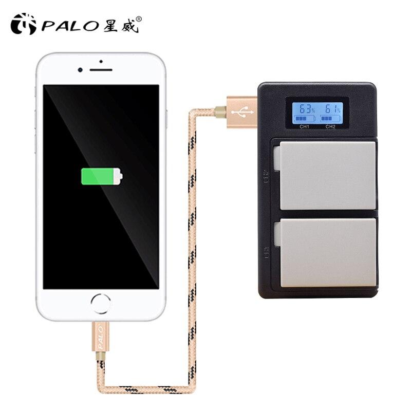 PALO-2pcs-camera-digital-battery-LP-E8-LCD-display-smart-AKKU-charger-For-Canon-EOS-550D