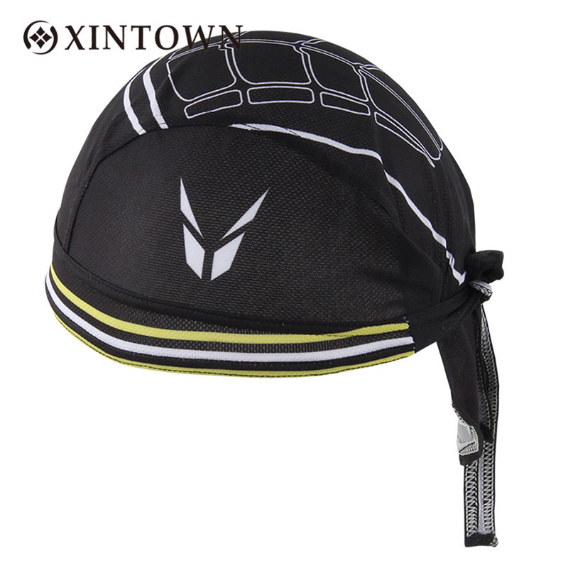 Newest Cycling Caps 100% Polyester High-elastic Free Size Unisex Sports Headwear Fitness Hip-hop Travelling Sweatproof Headband