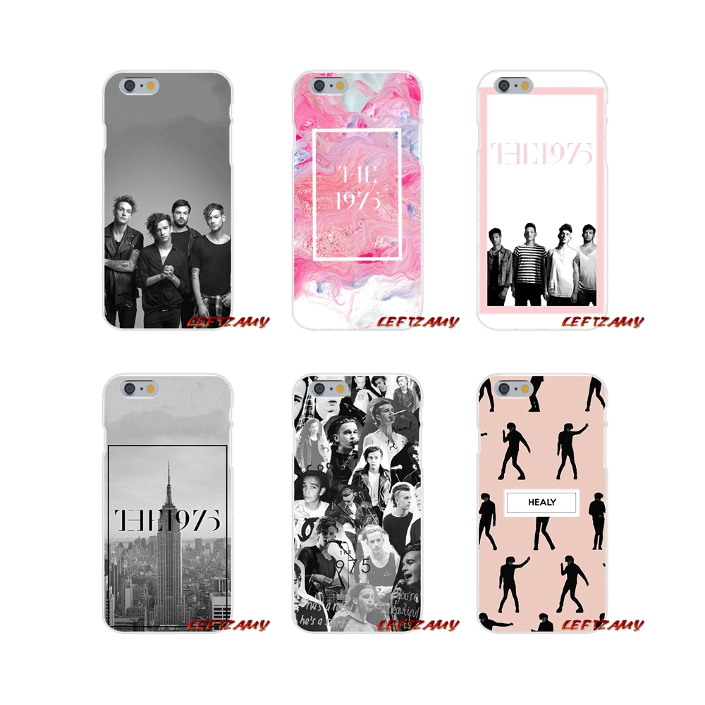 For <font><b>iPhone</b></font> X XR XS MAX 4 4S 5 5S 5C SE <font><b>6</b></font> 6S 7 8 Plus <font><b>The</b></font> <font><b>1975</b></font> music Accessories Phone <font><b>Cases</b></font> Covers image