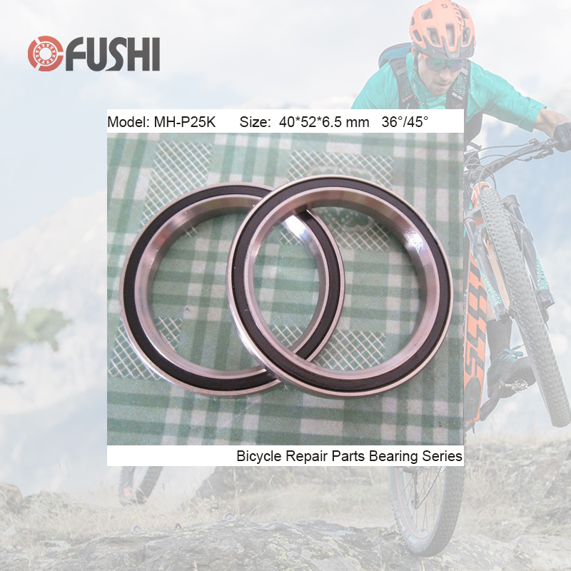 MH-P25K Bearing 40*52*6.5mm 36/45 ( 1 PC ) 1.5 Inch Bicycle Head sets Repair Parts Ball BearingsMH-P25K Bearing 40*52*6.5mm 36/45 ( 1 PC ) 1.5 Inch Bicycle Head sets Repair Parts Ball Bearings