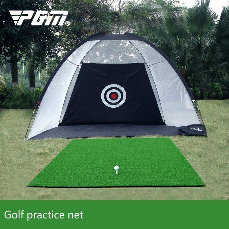 Intérieur filet de pratique de golf swing exerciseur practise de Golf deux couleurs sans tampon