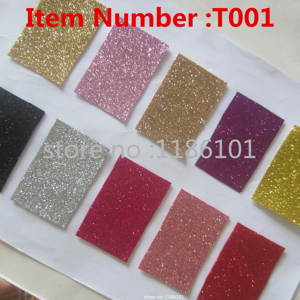 Glitter Wallpaper Colour Sample Wall Covering Glitter Pu