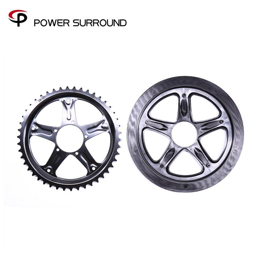 2018 bafang 46T chain wheel for 8fun motor kit BBS01/02 electric bike kit