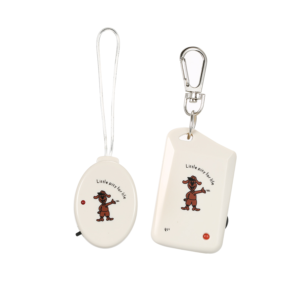 Wireless Electronic Anti-Lost Alarm Keychain Anti Lost Reminder Vibration Sound Alarm With Receiver And Transmitter