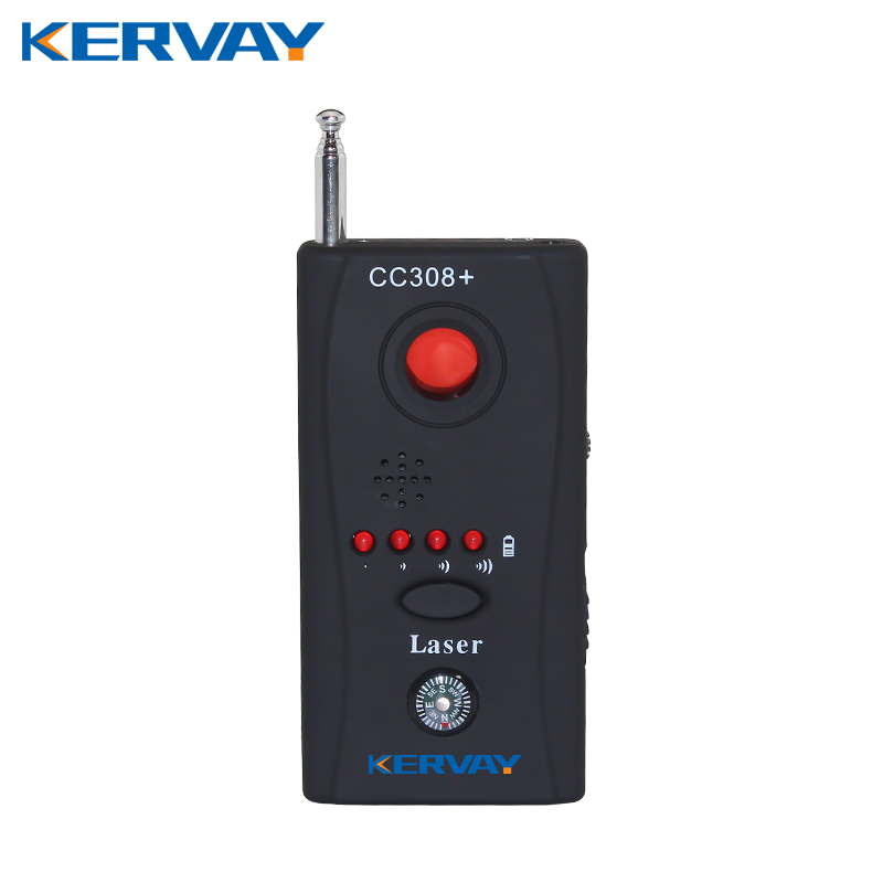 Kervay CC308 Wireless Handle Full frequency detector Laser Detector Camera For Personal Privacy Security GSM Camera Finder ...