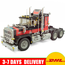 Lepin 21015 Creative Series The American Black Cat Truck Set Educational Building Blocks Bricks Children Toys 1743pcs Model 5571