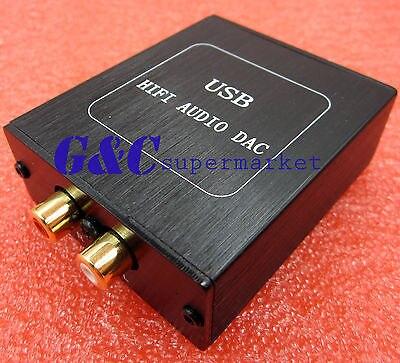 DA2 SA9027 + ES9023 24BIT/96KHZ Asynchronous USB DAC HIFI Sound Decoder + Case