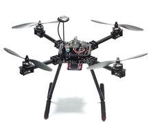 Atualização f550 zd550 550mm/zd680 680mm quadro fpv quadcopter fibra de carbono quad com fibra carbono skid pouso