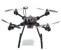 Nâng cấp F550 ZD550 550 mét Carbon fiber Quadcopter Khung FPV Quad với Carbon Fiber Landing Skid