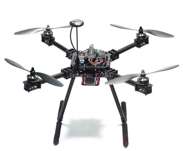 Upgrade F550 ZD550 550mm / ZD680 680mm Carbon fiber Quadcopter Frame FPV Quad with Carbon Fiber Landing Skid