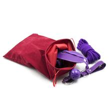 Sex Toys Collection Bag For Vibrator Anal Plug Storage Clip Double Fleece Lint Drawstring Beams Adult Game Accessories