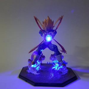 Image 2 - Figuras de acción de Goku, modelo en PVC de padre e hijo de Dragon Ball Z Vegeta, Goku Super Saiyan Vegeta, Goku, juguete para regalo