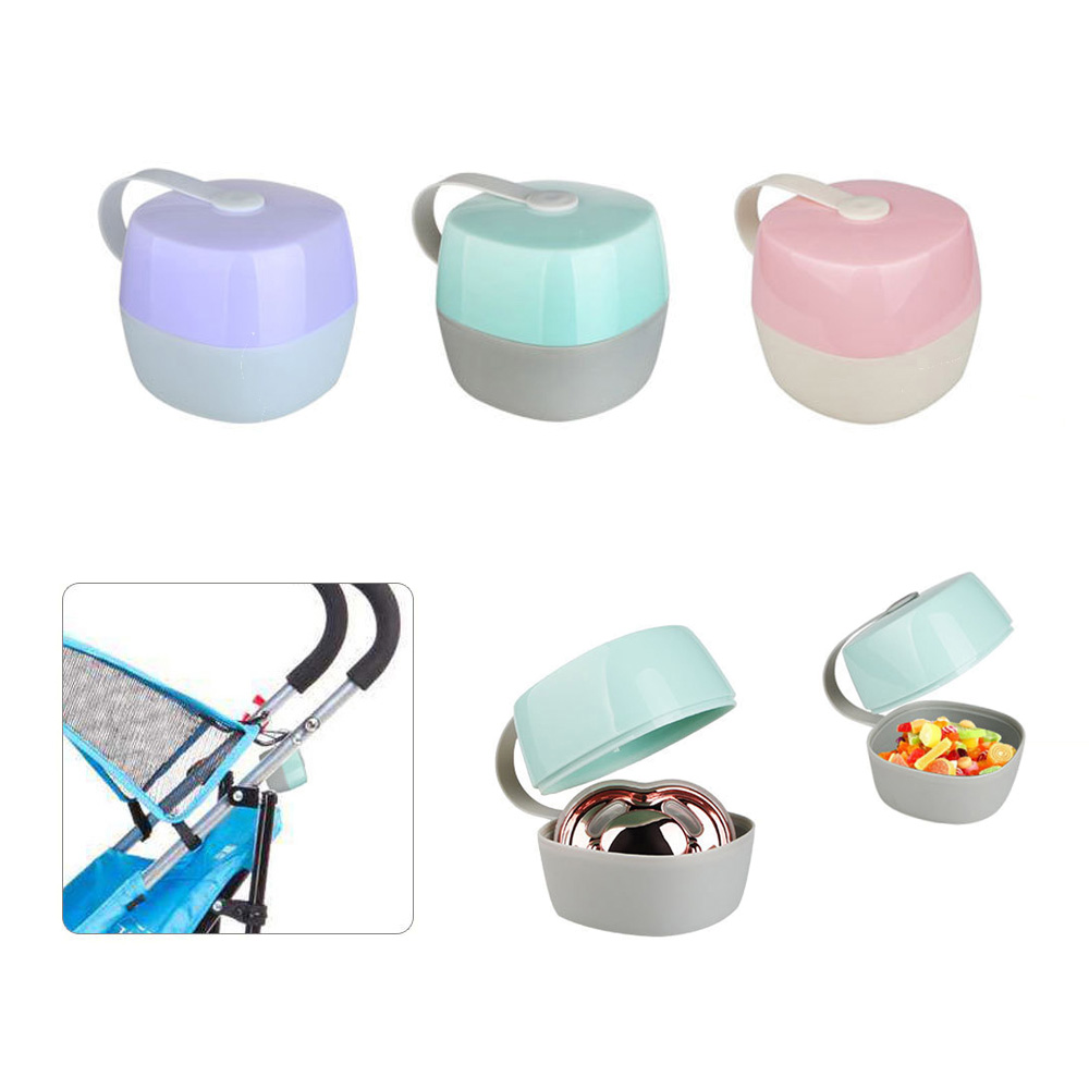 Portable Baby Infant Kids Pacifier Nipple Cradle Case Holder Travel Food Storage Box For Baby 0-12 Months