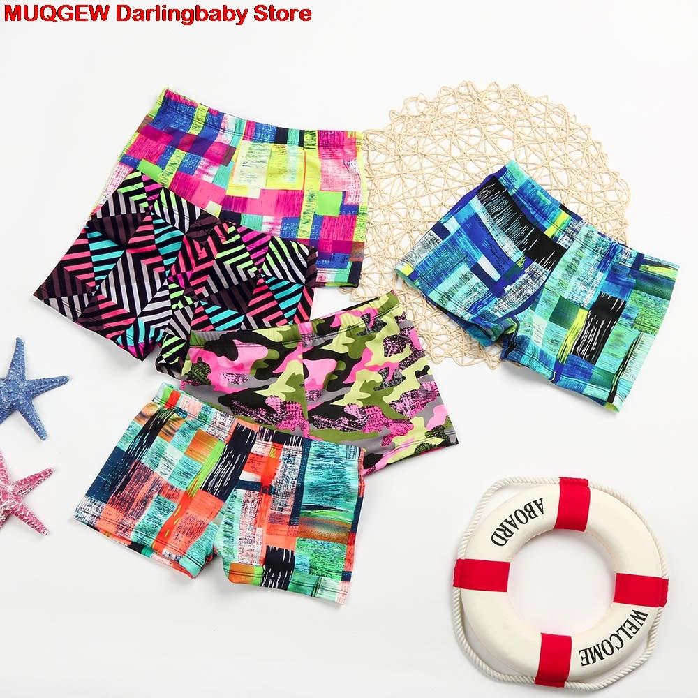 9010c85b1f New Toddler Children Kids Boys Stretch Summer Beach Swimsuit Swimwear  Trunks Shorts Clothes Camouflage Fashion Cool Boys Shorts