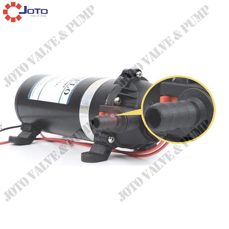 DP-120 RV Yacht Water Booster Self-priming Diaphragm PumpDP-120 RV Yacht Water Booster Self-priming Diaphragm Pump