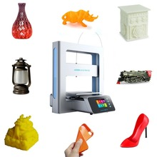 Configure Powerful A3S Full Metal Frame 2.8-Inch Touch Color Screen 3D Printer Printing Size 205 * 205 * 205mm