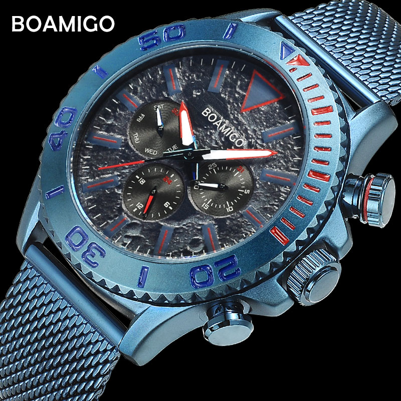 men watches 2018 luxury brand fashion sport business quartz watch date stainless steel wristwatches waterproof relogio masculino 2016 curren men luxury sport quartz wristwatches full steel watch date display fashion business watches relogio masculino 8069
